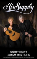 Air Supply tour admat Jefferson Wood
