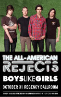 All American Rejects Tour Admat 2012
