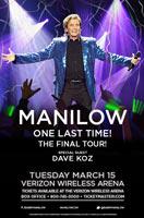 Barry Manilow 2016 Tour Admat Jefferson Wood