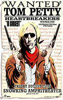 Tom Petty & The Heartbreakers poster Jackson Hole Wyoming 2003 Billboard #18 Best Poster of All Time, 2004 Pollstar Magazine poster contest first place winner best poster of the year.